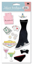 BACHELORETTE  -  I DO Wedding Stickers  JOLEES BOUTIQUE