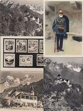 LIECHTENSTEIN 11 Cartes Postales 1940-1970.