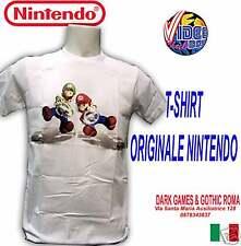 T-SHIRT MARIO KART Wii NEW ORIGINALE BIANCA TAGLIA XXL