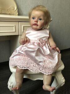 Realistic reborn baby doll Girl Sue Sue By Natali Blick , Original Kit