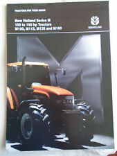 New Holland Series M 100 to 160hp Tractors brochure Jan 1996