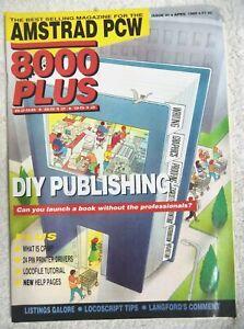 75362 Issue 31 Amstrad PCW 8000 Plus Magazine 1989