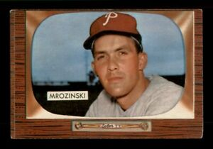 1955 Bowman Set Break #287 Ron Mrozinski EX *OBGcards*