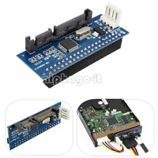 40-Pin IDE Female To SATA 7 15Pin 22-Pin Male adapter PATA TO SATA Card NEW