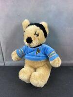 "Paramount Pictures Plush Star Trek SPOCK Teddy Bear 7"" Stuffed Animal"