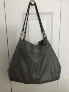 Coach leather ladies hand bag