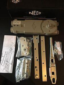 Concealed Overhead Transom Door Closer for aluminium doors & Shopfront by Neco
