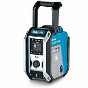 Makita 12v-18v Digital DAB FM Radio Jobsite Stereo Bluetooth Skin Only - DMR115