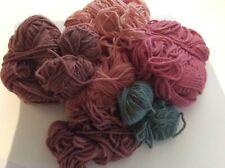 Rare Vintage Rowan WoolCotton job lot  913, 915,916 922, part balls
