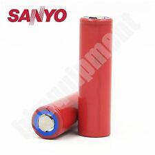 Sanyo NCR18650GA 18650 3500mAh Li-ion 3.7v Rechargeable Battery x2