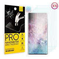 For Samsung Galaxy Note 10 Plus Original HD Fingerprint Unlock Screen Protector