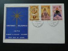 Christmas 1970 FDC Gilbert & Ellice Islands 63518