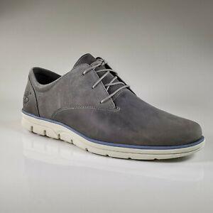 Timberland A15QQ Bradstreet Schuh Grau Sneaker Herren Schnürhalbschuhe