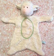 Douglas Baby Lamb Sheep Security Blanket Infant Baby Nursery Cuddle Toys Green