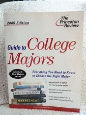 The Princeton Review Guide to College Majors, 2005 Edition