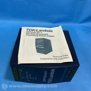 TDK-Lambda DPP120-24-1 Power Supply AC-DC 24V 5A FNIP