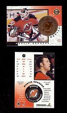 (25) MARTIN BRODEUR  - HOF - 1997-98 Pinnacle Mint BRONZE Hockey Card #16 LOT