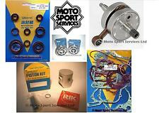 Honda CR 125 98-99 Mitaka Motor reconstruir Kit Cigüeñal Pistón C Sello Junta de red