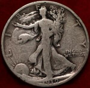 1919 Philadelphia Mint Silver Walking Liberty Half