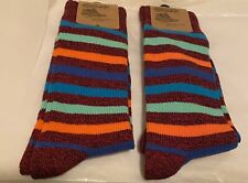 Brand New Men's Unsimply Stitched Boot Socks 2 Pairs Sz 8-12 $36 Value