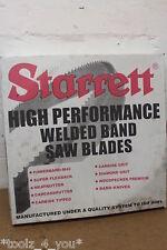 """Nuevo Starrett Intenss Pro M42 15' 00 """"X 1 1/4"""" x 042 """"X 3-4 Itp Sierra De Cinta Blade"""