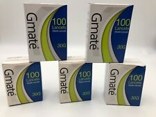 Gmate 30G Lancets  5 Boxes Of 100