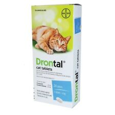 BAYER dewormer treatment for Cats Kittens tape hook round worms