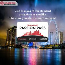 Unlimited Singapore Passion Pass - 3 Day (Adult)