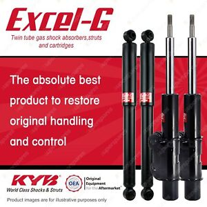 Front + Rear KYB EXCEL-G Shock Absorbers for VOLKSWAGEN Crafter 2E 35 DT5 RWD