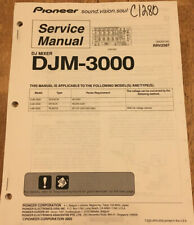PIONEER DJM-3000 DJ MIXER ORIGINAL SERVICE REPAIR MANUAL