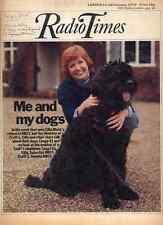 RADIO TIMES 14 FEB 1976 . CILLA BLACK CRUFTS COVER . DANDY NICHOLS . DOCTOR WHO
