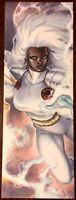 2017 Project Sexy 'Storm' Meghan Hetrick Sketch Card! Marvel/DC Comics