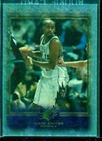 1999-00 2nd YEAR SPX MASTERS VINCE CARTER INSERT CARD #M2