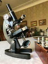 Vintage Cooke Troughton & Simms M1000 Microscope with Epi Illuminator/Mech Stage