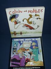 Calvin and Hobbes Book Lot by Bill Watterson Softcover Book 1987 Used