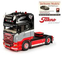 Tekno 69050 Scania R Streamline Topline 4x2 Tractor Unit STM Danmark 1:50 Scale