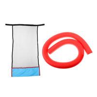 DIY Floating Pool Chair Foam Noodle Sling Swimming Mesh Net Seat Water Float
