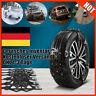 Auto Schneeketten Anfahrhilfe Schnee Reifenkette Eis Reifen Stabile SUV 165-265