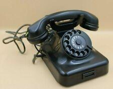 Post Telefon Wählscheibe W48 Bakelit 50er