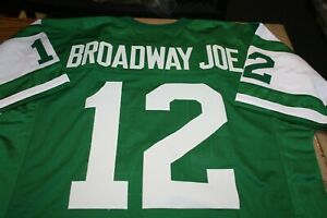 """JOE NAMATH #12 QB SEWN STITCHED JERSEY SIZE XLG SUPER BOWL III """"BROADWAY JOE"""""""