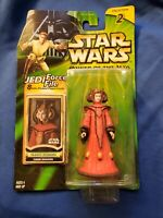 STAR WARS 'QUEEN AMIDALA' JEDI FORCE FILE POWER OF JEDI COLLECTION 2 MED/HIGRADE