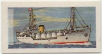 Liquid Gas Carrying Ship  Vintage Trade Ad Card