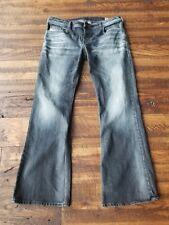 DIESEL Zathan Men's Blue Jeans 36 X 32 Regular Bootcut 0885K Stretch Denim Pants