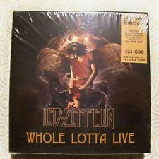 "LED ZEPPELIN ""WHOLE LOTTA LIVE"" 12CD +DVD MINI BOX SET SOUNDBOARD REC 1969-1979"