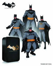 Batman 75th Anniversary DC Collectibles Action Figure 4 Pack Set 2 MISB