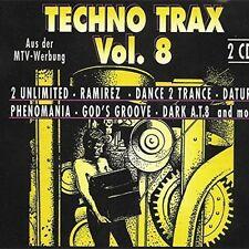 Techno Trax 08 (1993, zyx70080) Dance 2 Trance, Eskimo & Egypt, Mayday,.. [2 CD]
