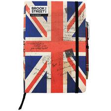 Reino Unido Bandera Notebook-Tapa Dura A5-Union Jack Diario-bandera británica Notebook
