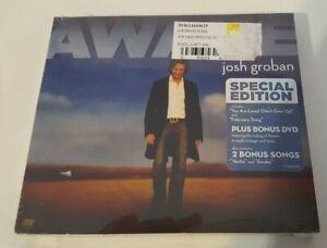 Josh Groban - Awake Special Edition CD/Making of Awake DVD Digipak New/Sealed