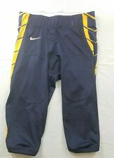 Nike Football Pants Mens Large Navy Blue Yellow