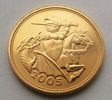 2005 Elizabeth II Gold Sovereign. Timothy Noad.